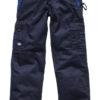Industry300 Trousers Short Dickies - navy/black