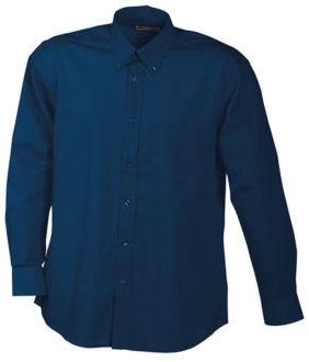 Werbeartikel Hemd Promotion Shirt longsleeved - navy