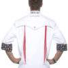 Fashionable Rock Chefs Jacket KARLOWSKY - weiß hinten