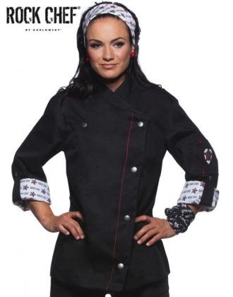 Fashionable Rock Chefs Ladies Jacket KARLOWSKY