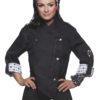 Fashionable Rock Chefs Ladies Jacket KARLOWSKY - schwarz