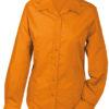 Werbeartikel Damen Bluse Promotion longsleeved - orange