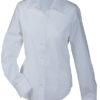 Werbeartikel Damen Bluse Promotion longsleeved - white