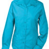Werbeartikel Damen Bluse Promotion longsleeved - turquoise