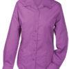 Werbeartikel Damen Bluse Promotion longsleeved - purple