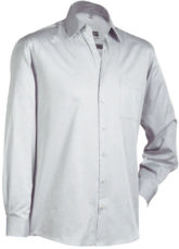 Business Hemd longsleeved - lightgrey