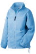 Werbemittel Jacke Fleece Kinder - light blue
