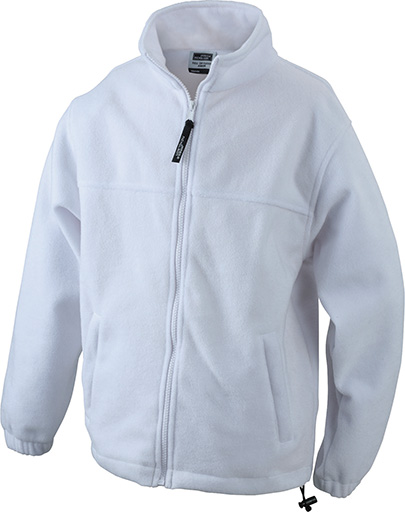 Werbemittel Jacke Fleece Kinder - white