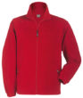 Werbemittel Jacke Fleece Kinder - red