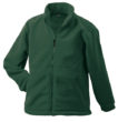 Werbemittel Jacke Fleece Kinder - dark green