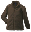 Werbemittel Jacke Fleece Kinder - brown
