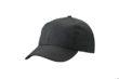 6 Panel Workwear Cap James & Nicholson - black