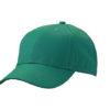 6 Panel Workwear Cap James & Nicholson - dark green