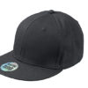 6 Panel Pro Cap Style James & Nicholson - black black