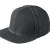 6 Panel Denim Pro Cap James & Nicholson - blackdenim black