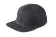 6 Panel Denim Pro Cap James & Nicholson - blackdenim black