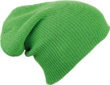 Knitted Long Beanie James & Nicholson - limegreen