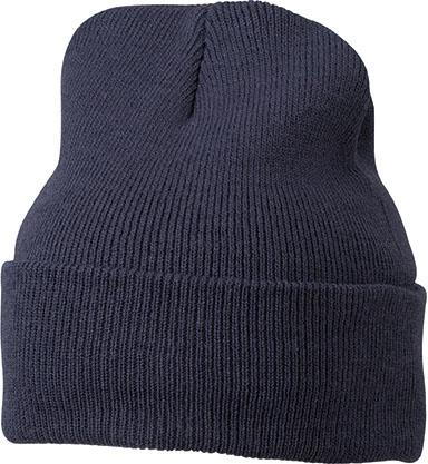 Knitted Cap James & Nicholson - darknavy