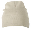 Knitted Cap James & Nicholson - sand
