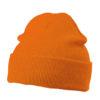 Knitted Cap James & Nicholson - orange
