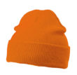 Knitted Cap James & Nicholson - orange