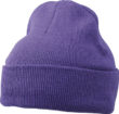 Knitted Cap James & Nicholson - darkpurple