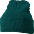 Knitted Cap James & Nicholson - darkgreen