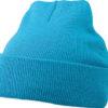 Knitted Cap James & Nicholson - aqua