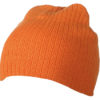 Rib Beanie James & Nicholson - orange