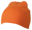 Rib Beanie James & Nicholson - orange
