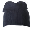 Rib Beanie James & Nicholson - navy