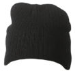 Rib Beanie James & Nicholson - black
