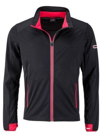 Men's Sports Softshell Jacket James & Nicholson