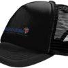 Trucker Cap Bullet - schwarz/schwarz