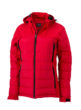 Ladies Outdoor Hybrid Jacket James & Nicholson - red