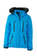 Ladies Wintersport Jacket James & Nicholson - aqua black