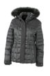 Ladies Wintersport Jacket James & Nicholson - black black