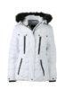 Ladies Wintersport Jacket James & Nicholson - white black