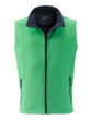 Mens Promo Softshell Vest James & Nicholson - green navy