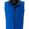 Mens Promo Softshell Vest James & Nicholson - nautic blue navy