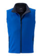 Mens Promo Softshell Vest James & Nicholson - nautic blue navy