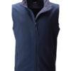 Mens Promo Softshell Vest James & Nicholson - navy navy
