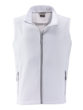 Mens Promo Softshell Vest James & Nicholson - white white