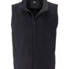 Ladies Promo Softshell Vest  James & Nicholson - black black