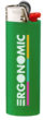 BIC J26 Feuerzeug - grün