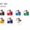 BIC J23 Feuerzeug - Farben