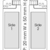 BIC J38 Elektronic Feuerzeug Chrom - Standbogen