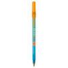 BiC Round Stic Kugelschreiber - gefrostet blau