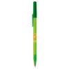 BiC Round Stic Kugelschreiber - gefrostet grün