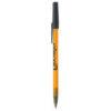 BiC Round Stic Kugelschreiber - gefrostet orange